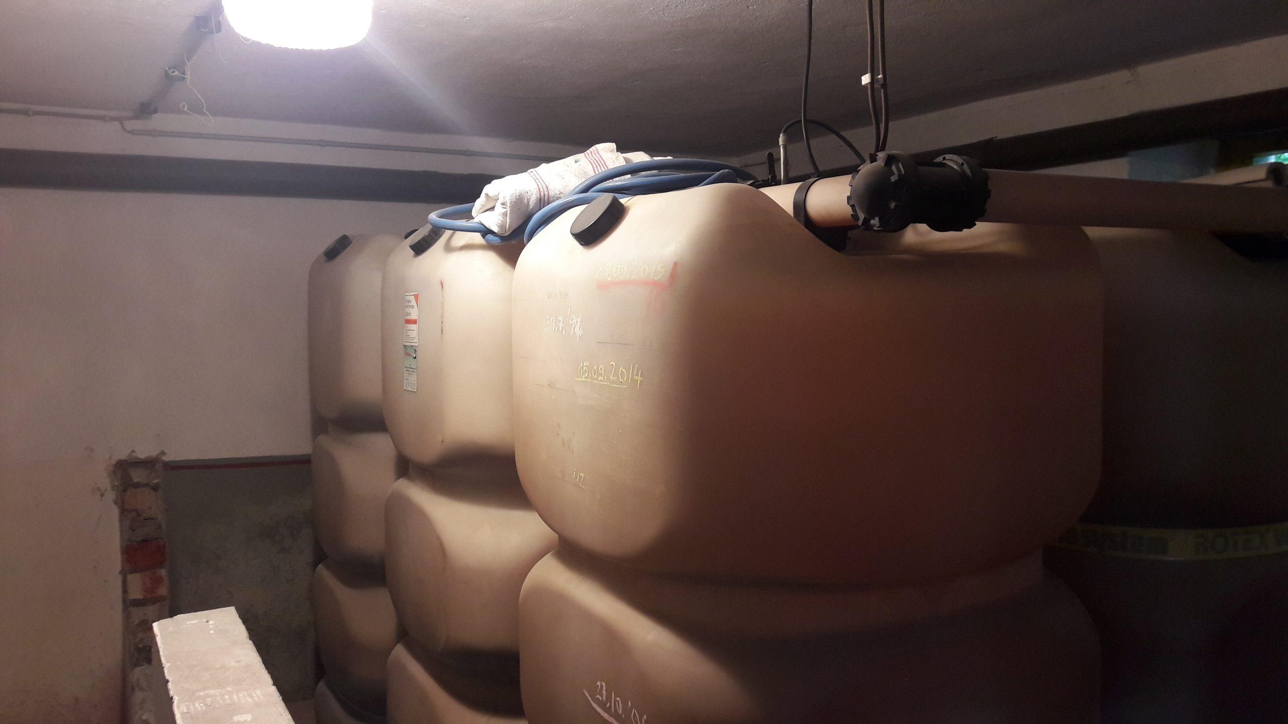 Entsorgung Kunststofftanks