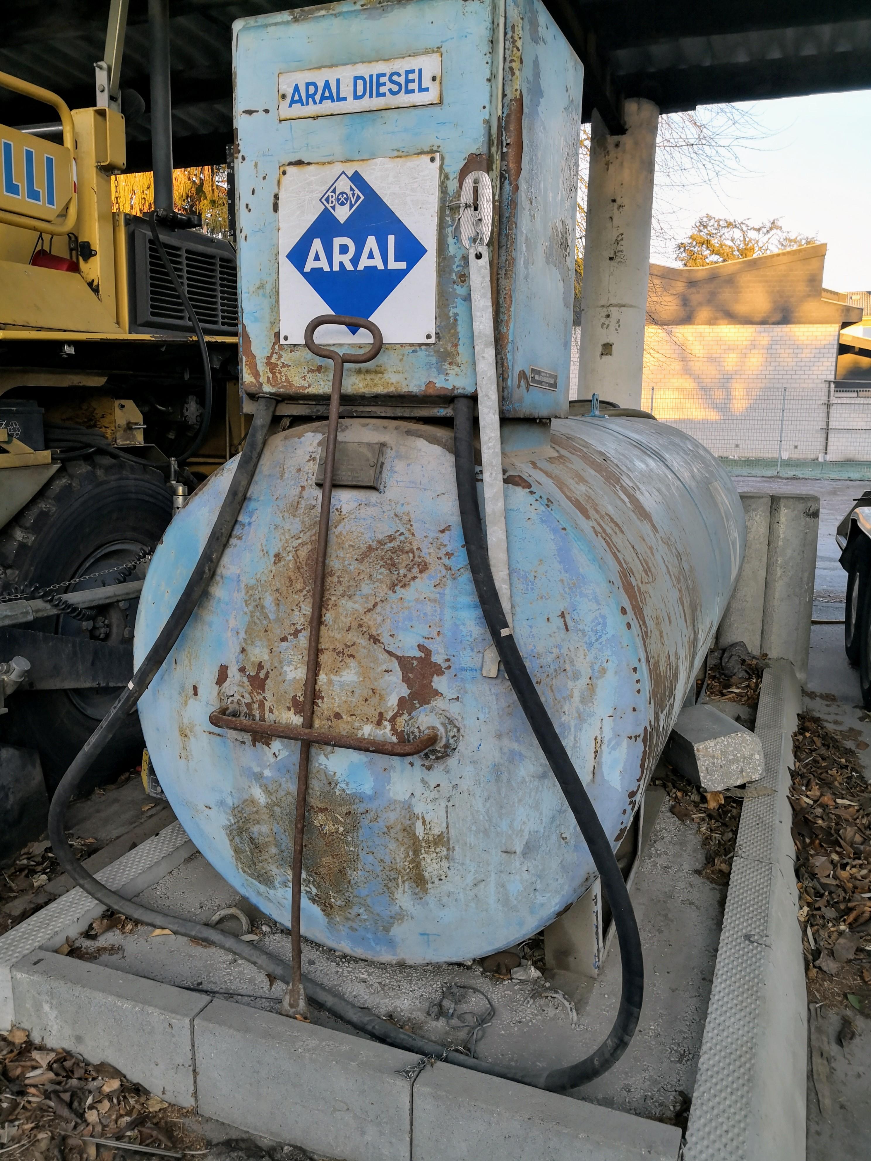 Zylindertank Dieseltank